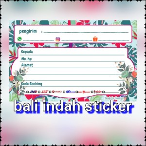 Harga stiker pengiriman online shop label pengiriman murah   bunga | HARGALOKA.COM