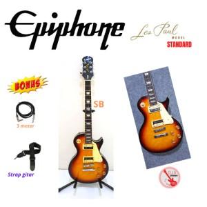 Harga gitar epiphone lespaul standard sunburn   HARGALOKA.COM