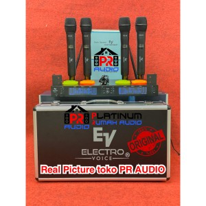 Harga mic wireless electro voice ev4x ev 4x ev 4x original 4 mic handheld | HARGALOKA.COM