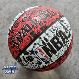 Harga bola basket spalding nba graffiti   official rubber outdoor | HARGALOKA.COM