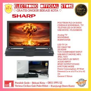 Harga led tv 24 inch polytron pld 24b8550 pld24b8550 elite sound | HARGALOKA.COM