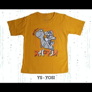 Harga kaos baju pakaian distro anak anak cotton combed asli super mario | HARGALOKA.COM
