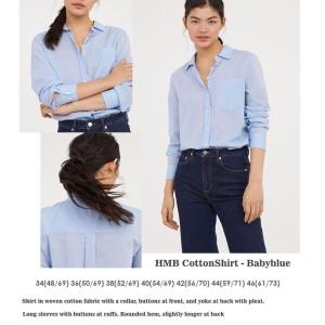 Harga kemeja wanita hm collar original   atasan branded casual | HARGALOKA.COM
