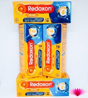 Harga redoxon triple action rasa jeruk vitamin c d amp zinc 10 tablet | HARGALOKA.COM