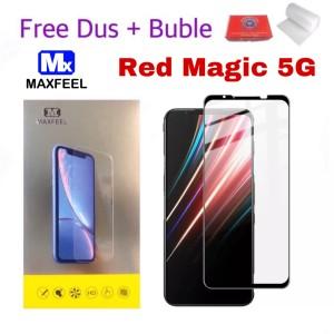 Harga maxfeel tempered glass zte nubia red magic 5g full cover | HARGALOKA.COM