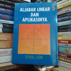 Harga aljabar linear dan aplikasinya edisi kelima steven j | HARGALOKA.COM