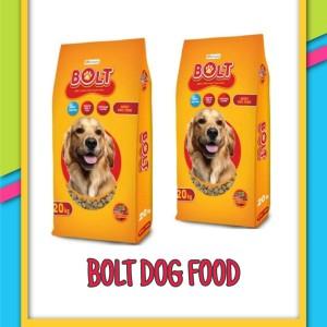 Harga bolt dog makanan anjing rasa beef 20kg gojek or   HARGALOKA.COM