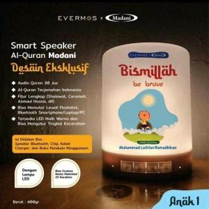 Harga speaker quran 30 juz lampu led bisa custom nama 25 katakter   HARGALOKA.COM