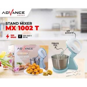 Harga advance stand mixer mx 1002t pengaduk adonan 2l stainless 100w | HARGALOKA.COM