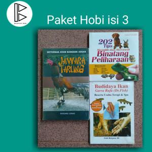 Harga buku hobi hewan peliharaan   isi 3   HARGALOKA.COM