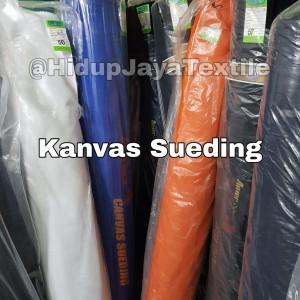 Harga kain canvas kanvas sueding eceran grosir bahan topi tas jaket murah   HARGALOKA.COM
