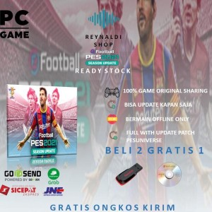 Harga pes 2021 efootball pes 2021 full update with latest patch pc original   | HARGALOKA.COM