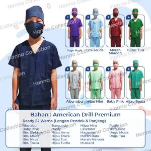Harga baju dokter jaga tenaga medis   hijau | HARGALOKA.COM