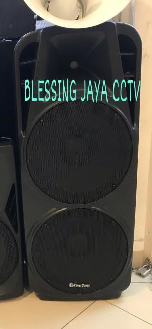Harga speaker bluetooth 15 inch karaoke audioboss double audio bass | HARGALOKA.COM