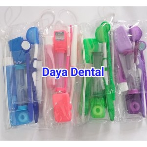 Harga dental sikat gigi behel orthokit dr clark sikat behel paket lengkap   | HARGALOKA.COM