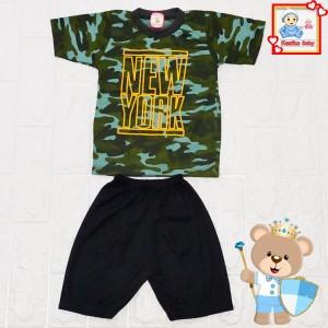 Harga setelan baju oblong doreng anak kode 2027   | HARGALOKA.COM