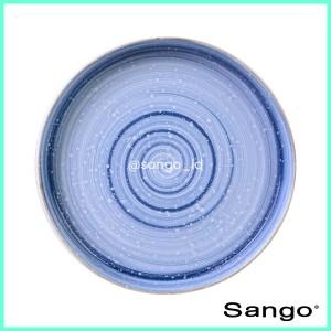 Harga sango set piring makan stackable baby blue isi 2   HARGALOKA.COM