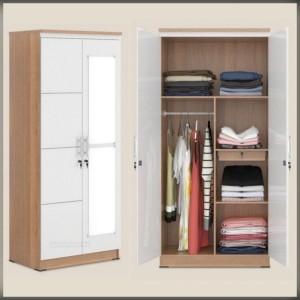Harga lemari olympic pakaian 2 pintu lp eer0 | HARGALOKA.COM