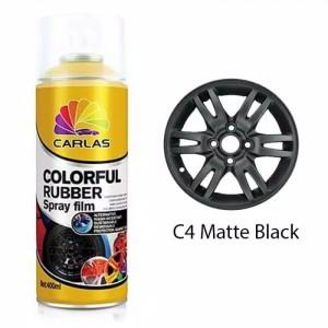 Harga Carlas Rubber Paint Black C4 Hitam Doff Katalog.or.id