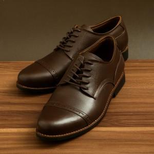Harga sepatu pantofel pria sepatu pria kulit asli sepatu formal model silva   hitam   HARGALOKA.COM