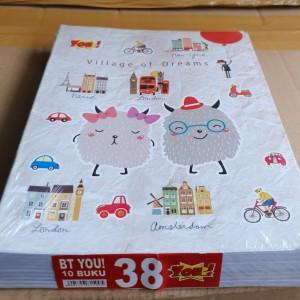Harga buku tulis murah you produk kiky 38 | HARGALOKA.COM
