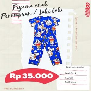 Harga baju tidur piyama anak laki laki perempuan murah   m anak   HARGALOKA.COM