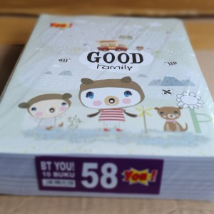 Harga buku tulis murah you produk kiky 58 | HARGALOKA.COM