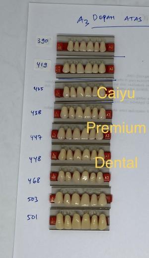 Harga gigi palsu caiyu a3 depan | HARGALOKA.COM