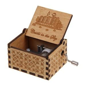 Katalog Kotak Musik Vintage Wooden Music Box Beauty The Beast Twinkle Star Katalog.or.id