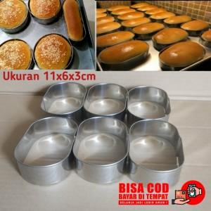Harga ring cuter motif oval ring cutter oval cetakan kue 11x6x3cm isi | HARGALOKA.COM