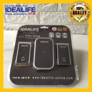 Info Idealife Il 301 Wireless Doorbell Bel Pintu Wireless Battery Dc Katalog.or.id