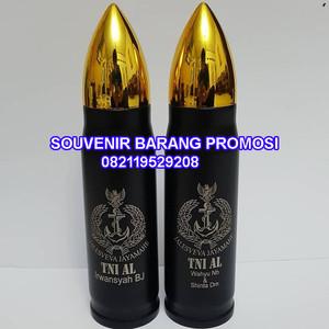 Harga cetak logo tumbler unik botol minum pluru tumbler pluru | HARGALOKA.COM