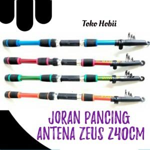 Harga joran pancing antena zeus 240 cm   toko | HARGALOKA.COM