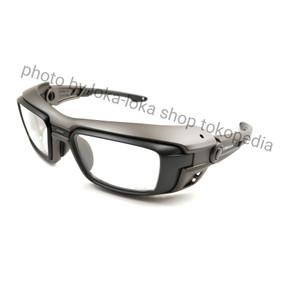 Harga kacamata frame minus safety worksafe seri vector 3062 abu abu hitam   frame   HARGALOKA.COM