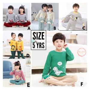 Harga piyama anak import murah   baju tidur anak 5 tahun   a size 5   HARGALOKA.COM
