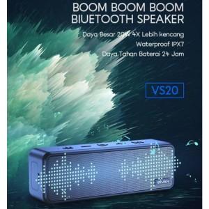 Harga speaker bluetooth ultra bass 20w ipx7 waterproof hi fi bass | HARGALOKA.COM