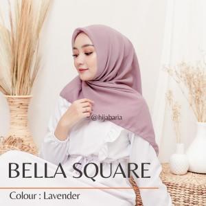 Harga kerudung segi empat   lavender hijab square harian polos | HARGALOKA.COM