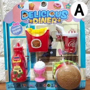 Harga pelengkap mainan masakan miniatur makanan minuman snack | HARGALOKA.COM