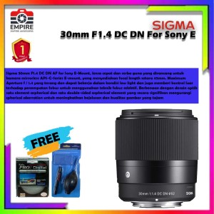 Harga sigma 30mm f1 4 dc dn contemporary for sony e   HARGALOKA.COM