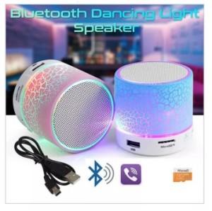 Harga speaker box bluetooth led s10 model kaca retak speaker box bluetooth   HARGALOKA.COM
