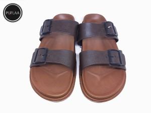 Harga sandal pria slip on new era original 5002   brown | HARGALOKA.COM