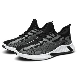 Harga sepatu sneakers phantom vol 1 running shoes sports fashion larocking   hitam | HARGALOKA.COM