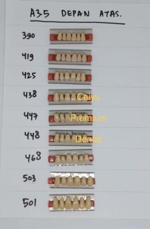 Harga gigi palsu caiyu a3 5 depan | HARGALOKA.COM