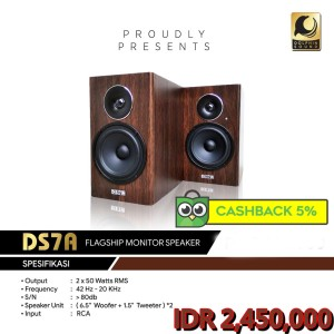 Harga isk ds7a mkv monitor speaker recording | HARGALOKA.COM