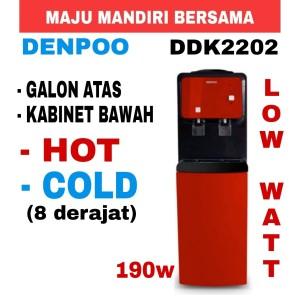 Harga dispenser denpoo ddk2202 elektro galon atas low watt190w   | HARGALOKA.COM