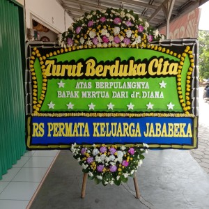 Harga bunga papan duka bekasi murah harapan | HARGALOKA.COM
