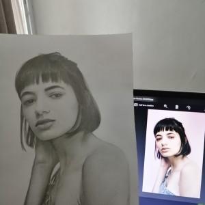 Harga promo jasa lukis sketsa karikatur wajah realis kertas | HARGALOKA.COM