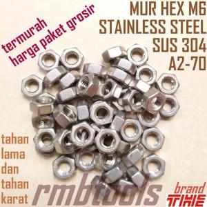Harga Mur Nylon M5 Stainless Steel Katalog.or.id