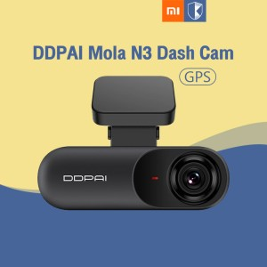 Harga xiaomi ddpai dash cam mola n3 gps car camera connect kamera | HARGALOKA.COM