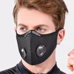 Harga masker sepeda masker motor respirator filter pm2 5 anti debu polusi     HARGALOKA.COM